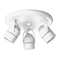 Progress P6153-30WB Directionals White 50 watt 3 Light Directional