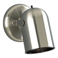 Progress Lighting Directional 1 Light Close-to-Ceiling in Brushed Nickel P6155-09