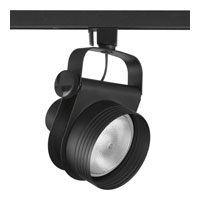 Progress P6307-31 Gallery 1 Light Black Gallery Track Head Ceiling Light photo thumbnail