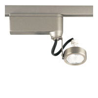 Progress Lighting Miniature Halogen 1 Light Track Head in Brushed Nickel P6339-09