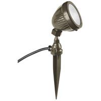 Signature 120V 13 watt Antique Bronze Landscape Flood Light, with Spike