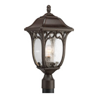 Enchant 1 Light 21 inch Espresso Outdoor Post Lantern