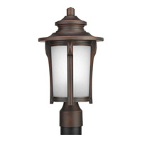 Pedigree 1 Light 16 inch Autumn Haze Outdoor Post Lantern
