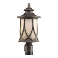 Resort 1 Light 17 inch Aged Copper Outdoor Post Lantern
