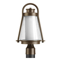 Regatta 1 Light 16 inch Antique Bronze Outdoor Post Lantern