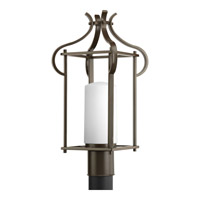 Progress Lighting Imperial 1 Light Outdoor Post Lantern in Antique Bronze P6407-20