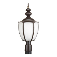 Progress Lighting Roman Coach 1 Light Outdoor Post Lantern in Antique Bronze P6413-20