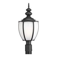 Progress Lighting Roman Coach 1 Light Outdoor Post Lantern in Black P6413-31