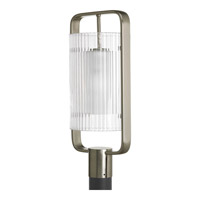 Progress Lighting Coupe 1 Light Outdoor Post Lantern in Brushed Nickel P6415-09EE