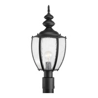 Progress Lighting Roman Coach 1 Light Outdoor Post Lantern in Black P6417-31