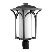 Progress Lighting Promenade 1 Light Post Lantern in Black P6418-31WB