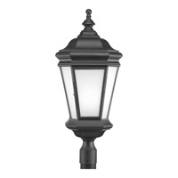 Crawford 1 Light 28 inch Black Outdoor Post Lantern