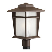 Loyal 1 Light 18 inch Antique Bronze Outdoor Post Lantern