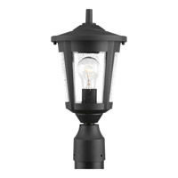 Progress Lighting East Haven 1 Light Post Lantern in Black with Clear Seeded Glass P6425-31