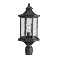 Progress Edition 1 Light Outdoor Post Lantern in Black P6429-31