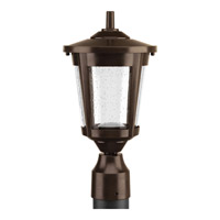 Progress Lighting East Haven 1 Light LED Post Lantern in Antique Bronze with Clear Seeded Glass P6430-2030K9