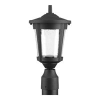 East Haven LED 15 inch Black Post Lantern
