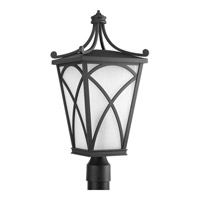 Progress Cadence 1 Light Outdoor Post Lantern in Black P6435-31