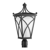 Progress P6435-31 Cadence 1 Light 23 inch Black Outdoor Post Lantern