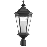 Crawford 1 Light 25 inch Black Outdoor Post Lantern