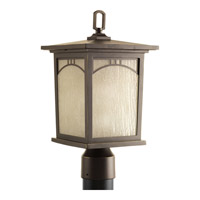 Residence 1 Light 16 inch Antique Bronze Outdoor Post Lantern