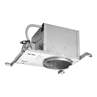 Progress Lighting 6in 45 New Construction Air-Tight & IC Sloped Ceiling Housing Recessed Housing P645-AT