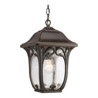 Progress P6501-84 Enchant 1 Light 10 inch Espresso Outdoor Hanging Lantern