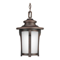 Progress P6503-97 Pedigree 1 Light 9 inch Autumn Haze Outdoor Hanging Lantern