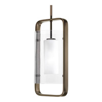 Progress Lighting Coupe 1 Light Outdoor Hanging Lantern in Venetian Bronze P6515-74EE