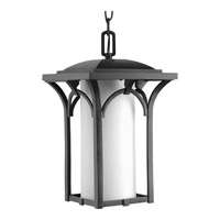 Progress Lighting Promenade 1 Light Hanging Lantern in Black P6518-31WB