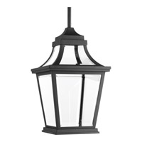 Progress Endorse 1 Light Outdoor Hanging Lantern in Black P6526-3130K9