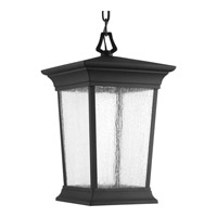 Progress Arrive 1 Light Outdoor Hanging Lantern in Black P6527-3130K9