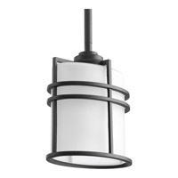 Progress Format 1 Light Outdoor Hanging Lantern in Black P6528-31