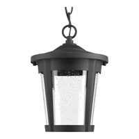 Progress Lighting East Haven 1 Light LED Outdoor Hanging Lantern in Black with Clear Seeded Glass P6530-3130K9