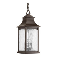 Progress P6532-108 Maison 2 Light 7 inch Oil Rubbed Bronze Outdoor Hanging Lantern