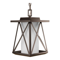 Progress Scope 1 Light Outdoor Hanging Lantern in Antique Bronze P6534-20