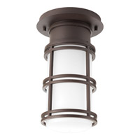 Bell LED 7 inch Antique Bronze Outdoor Hanging Lantern