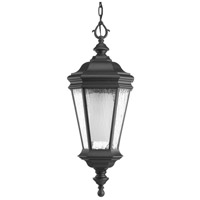 Crawford 1 Light 10 inch Black Outdoor Hanging Lantern