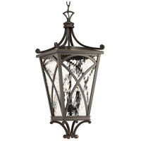 Progress P6542-108 Cadence 3 Light 10 inch Oil Rubbed Bronze Outdoor Hanging Lantern Design Series