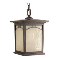 Progress Residence 1 Light Outdoor Hanging Lantern in Antique Bronze P6552-20