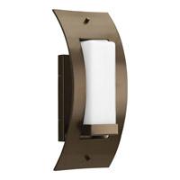 Progress P6602-20 Peek-a-boo 1 Light 13 inch Antique Bronze Outdoor Wall Lantern