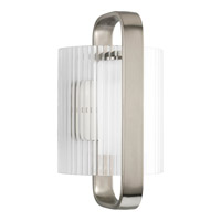 Progress Lighting Coupe 1 Light Outdoor Wall in Brushed Nickel P6604-09EE