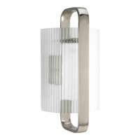 Progress Lighting Coupe 1 Light Outdoor Wall Lantern in Brushed Nickel P6605-09EE