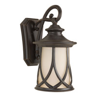 Progress Lighting Resort 1 Light Wall Lantern in Aged Copper P6606-122