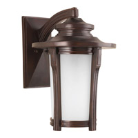 Progress P6607-97 Pedigree 1 Light 14 inch Autumn Haze Wall Lantern Wall Light