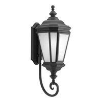 Crawford 1 Light 29 inch Black Outdoor Wall Lantern