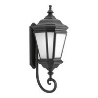 Progress Lighting Crawford 1 Light Outdoor Wall Lantern in Black P6614-31