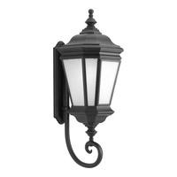 Progress Lighting Crawford 1 Light Outdoor Wall Lantern in Black P6614-31 alternative photo thumbnail