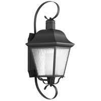 Andover 1 Light 34 inch Black Outdoor Wall Lantern, Extra Large