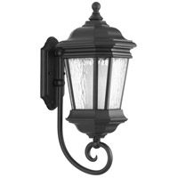 Crawford 1 Light 21 inch Black Outdoor Wall Lantern, Medium